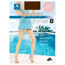 Collant Estivi Filodoro ICE SUMMER 8 calze donna