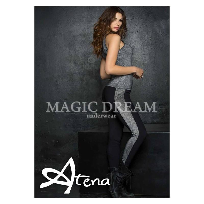 MagicDream leggings donna mysoft con lurex 7780