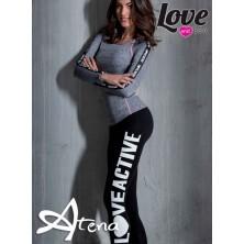 Maglia sportiva donna e leggings palestra LoveandBra 21897