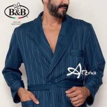 Vestaglia uomo B&B Tripoli giacca da camera