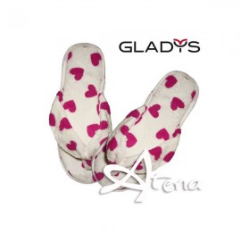 Pantofole Donna Sleepers Infradito Gladys ID374 Bianco