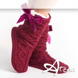 Pantofole Donna Sleepers HY4008 Rosso