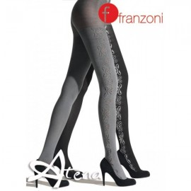 COLLANT MODA REVERSIBILE FRANZONI DAMASCATA
