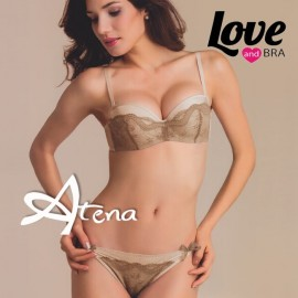 Completino Love and Bra reggiseno fascia + slip Martinica 5397