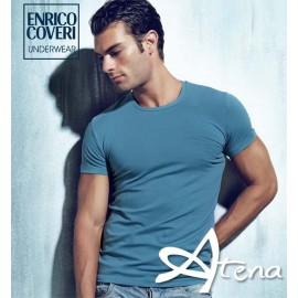 T-SHIRT GIROCOLLO MM ENRICO COVERI ET1500