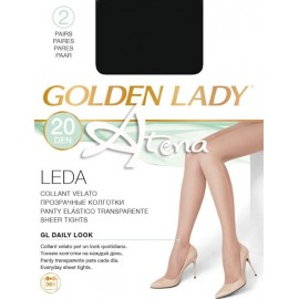 Collant GoldenLady velato LEDA 20PZ
