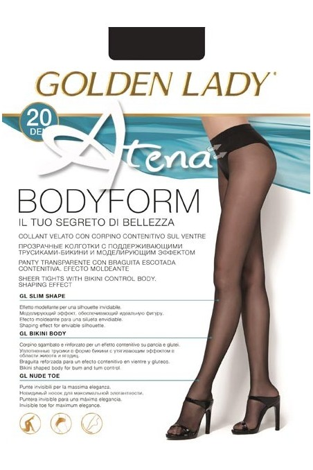 COLLANT MODELLANTE GOLDENLADY BODYFORM 20 DEN 5PZ