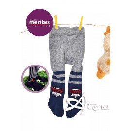 Collant NEONATO BEBE' BOY fantasia MERITEX 6PZ
