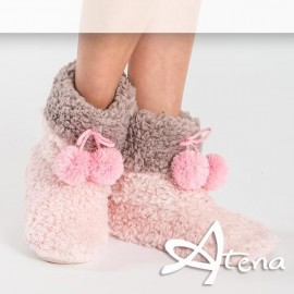 Pantofole Donna Sleepers HY5038 Rosa