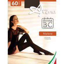 Calza autoreggente MARLENE 60 balza liscia BC 6PZ