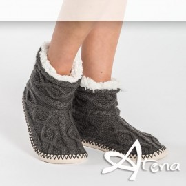 Pantofole Donna Sleepers HY5020 Antracite