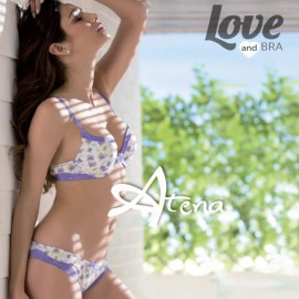 COORDINATO LOVE AND BRA CAPRI 8196