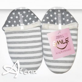 Sleepers a righe e pois SMILE SSO-602