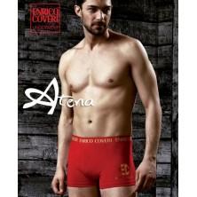 Boxer Enrico Coveri EB1602 Rosso