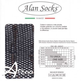 Collant a rete Glitter brillante Alan Socks