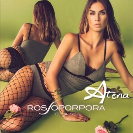 RossoPorpora set triangolo pizzo CD607