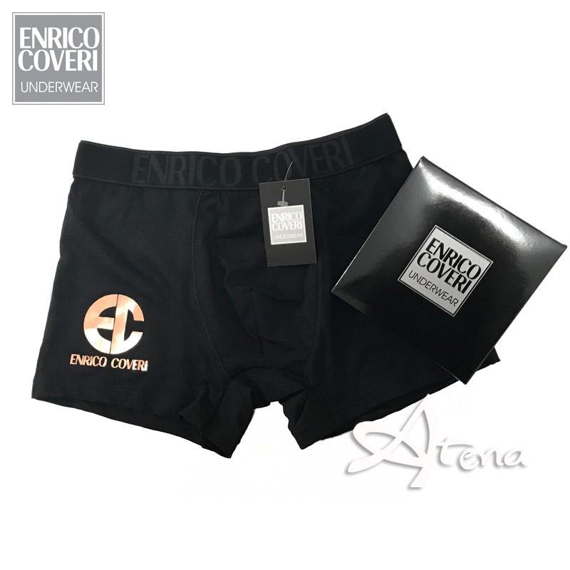 Boxer Uomo con logo laminato Enrico Coveri EB1633