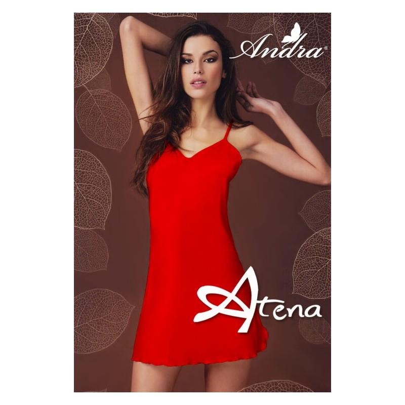 Sottoveste in raso rosso 833 Andra Lingerie