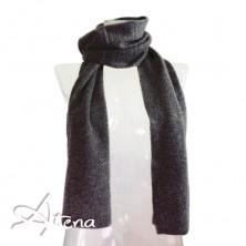 Sciarpa in lana angora con lurex