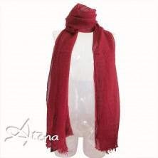 Sciarpa misto lana con micro borchiette
