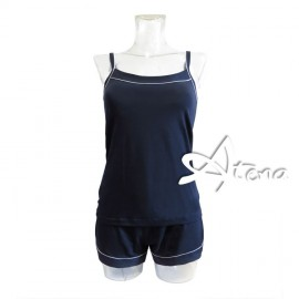 Pigiama corto donna top e short 7195 MagicDream