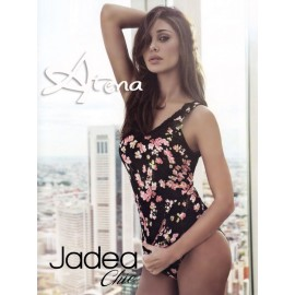 Jadea 4760 Top + slip Garden in cotone