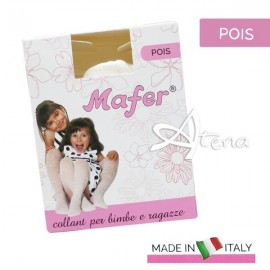 Collant per bimba a pois 4072 Mafer 6 PZ