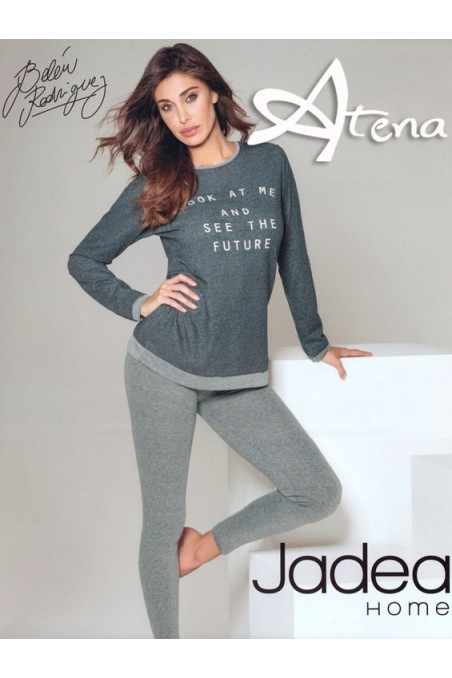 Pigiama Jadea Home con leggings Future 5072
