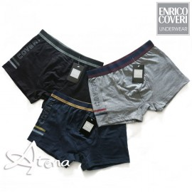 Enrico Coveri Tri-pack Short elastico bi-color 1656