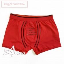 Boxer Rosso Ti-ramisù RossoPorpora NU262