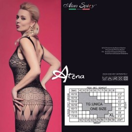 Catsuit Bodystocking Alan Spicy C2425 intimo sexy donna