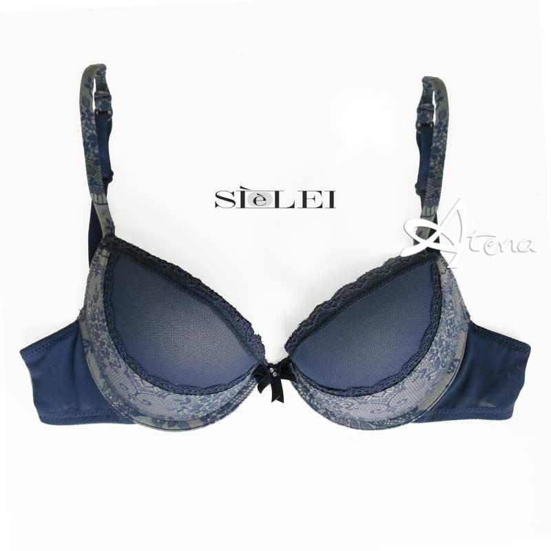 SièLei Completo Reggiseno Push-Up + Brasiliana 5494 - lingerie di moda